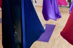 Aerial Yoga Freising mit Renate Uschold