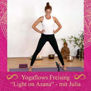 Julia Wenisch Yoga Workshop Light on Asana