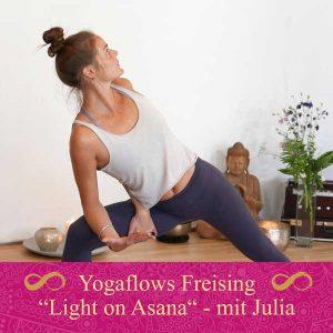 Logo Yoga Workshop mit Julia Wenisch