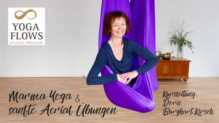 Marma Yoga & sanfte Aerial Übungen