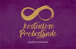 Preise im Yogastudio Freising - Kostenlose Probestunde