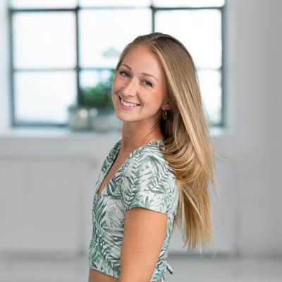 Yoga teacher Romy Streit