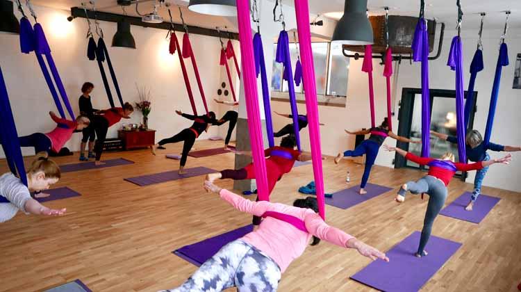 Aerial Yoga für Einsteiger
