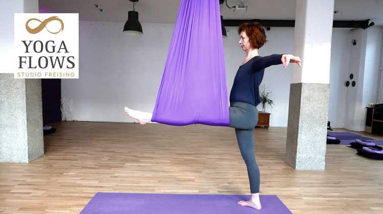 Ayurveda Yoga und sanfte Aerial Übungen