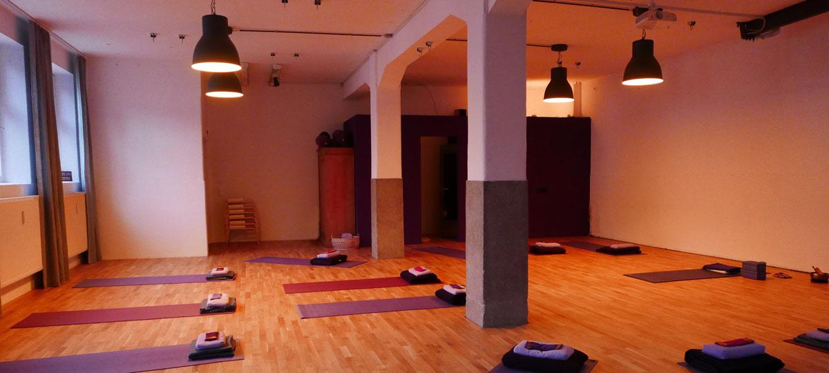 Yogastudio yogaflows Freising