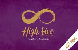 Preise im Yogastudio Freising - high five 60