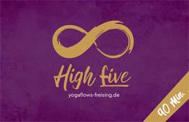 Preise im Yogastudio Freising - high five 90