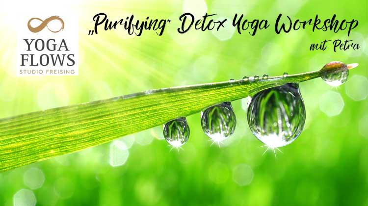 Purifying  – Detox Yoga Workshop